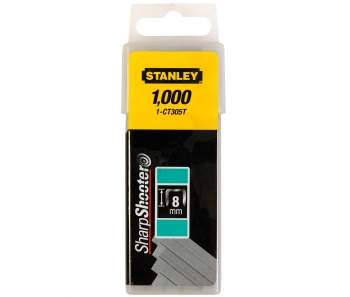 1-CT305T</b> - FLAT NARROW CROWN STAPLES 8 MM